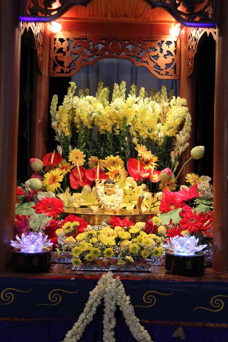 Altar mandi Buddha
