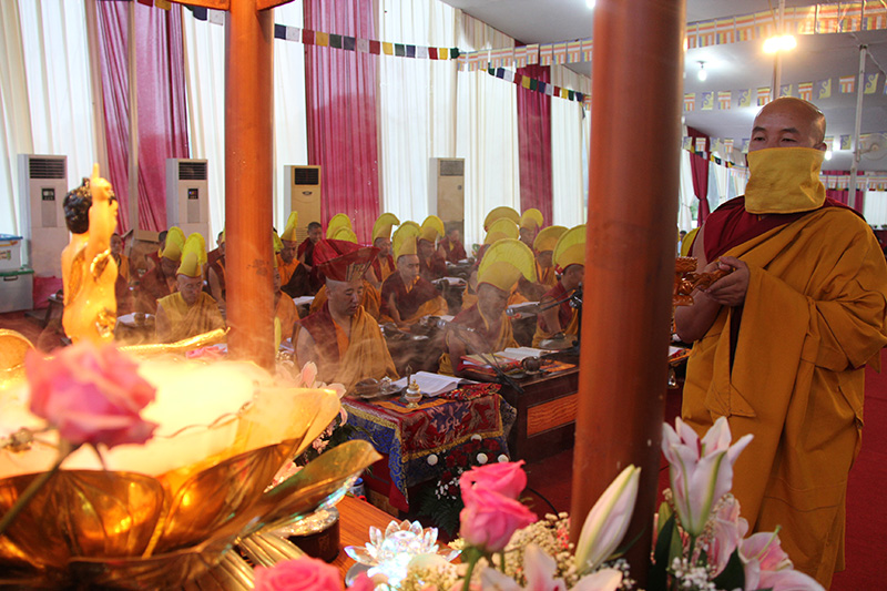 Bathing Buddha procession