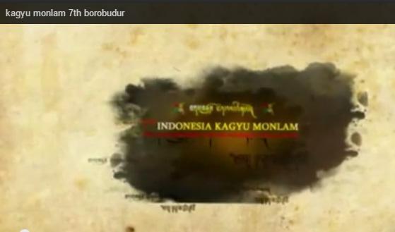 Preview Moments - Kagyu Monlam 7th Borobudur