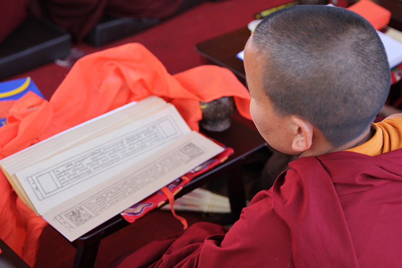 lama read the kangyur