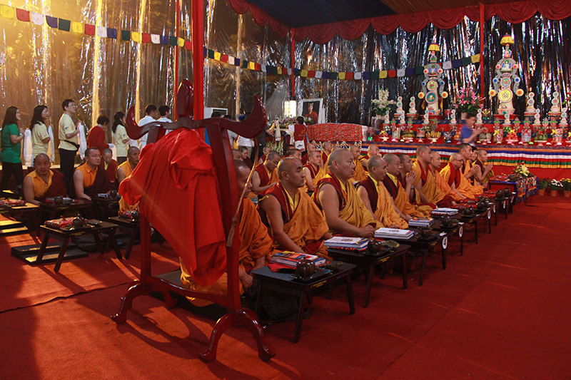 member give khata offering to the Karmapa
