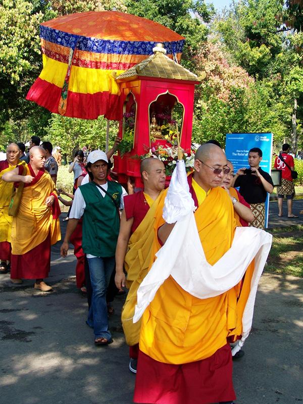 procession 1000 years Atisha