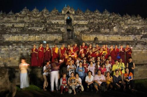 Foreign member with Sangha