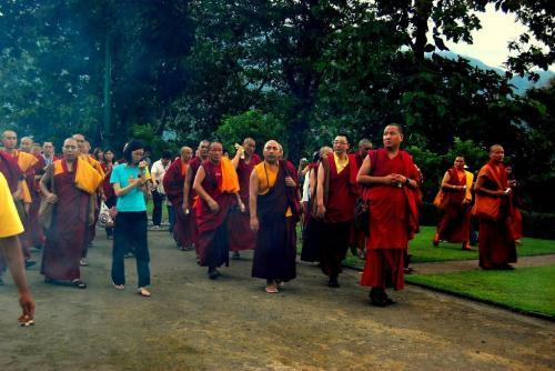 prepare for Borobudur's kora