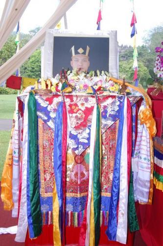 Karmapa's Throne