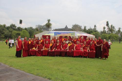 Sangha who join 3th Kagyu Monlam