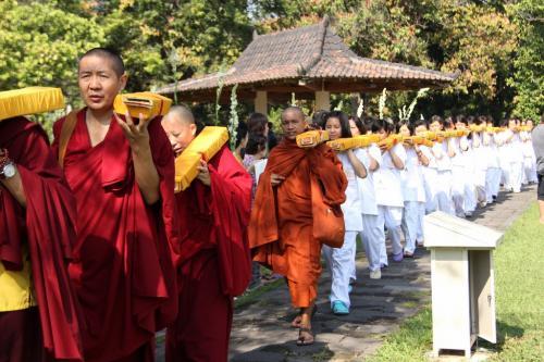 member join on kangyur procession