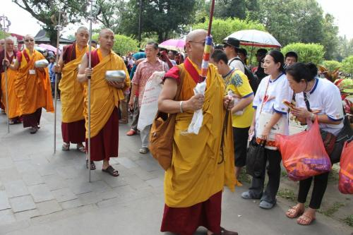 pinda patra procession