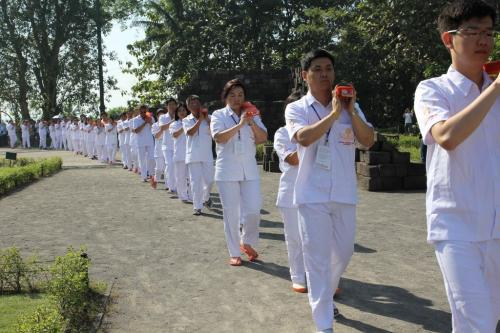 member join the kangyur procession